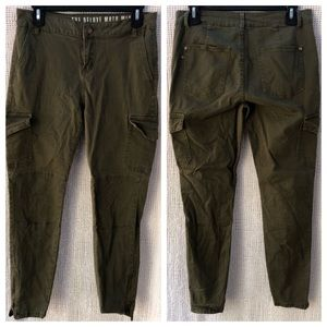 Cotton On Deluxe Moto Mid Rise Pants